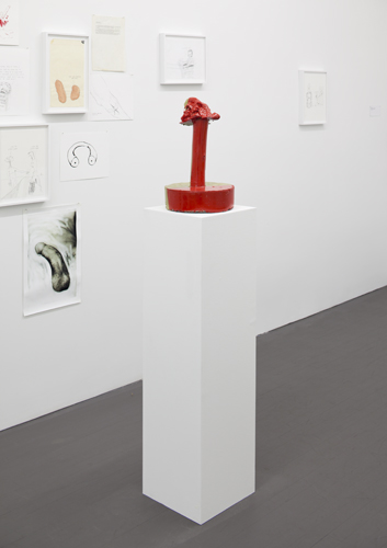 Frowntown, Installation View 4, Wallspace, 2013